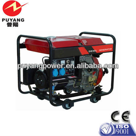 Factory supply wholesale High quality 2kw portable generator diesel with wheels and handle