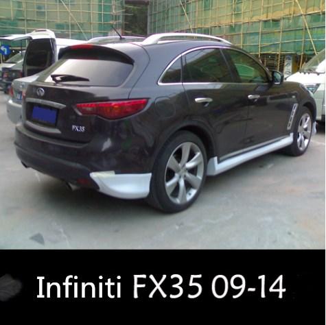 2009 2014 Fx35 Body Kit For Rear Corner Infiniti Buy Infiniti Fx35