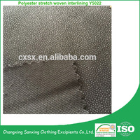 PA coating woven fabric polyester stretch woven interlining fabric