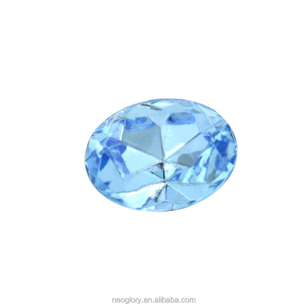 stones Light Sapphire 211 Oval stone 4130/2-6*4mm Crystal From Swarovski
