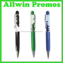 Promotional Liquid Pen,Liquid Floating Pen With 3D Floater