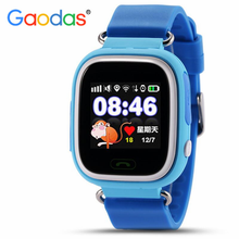 GPS Tracker Smart Watch For kids 1.22 Inch Touch Screen WIFI Tracker SOS Emergency Calling Q90 Baby Kids GPS Smart Watch