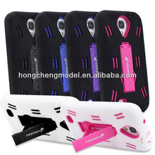 New Hybrid Heavy Duty Mobile Phone Shell Stand for Samsung Galaxy S 4 IV SIV i9500