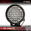 "Super bright off road 5d round 4x4 9"" 370w led driving light"