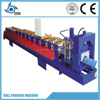 Roof ridge cap press machine/ridge tile roll forming machine/roof metal ridge cap