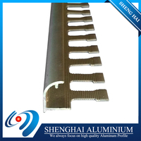 Trade assurance lightweight l shaped tile trim