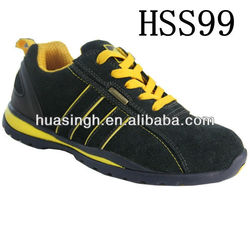 DH,2013 hot selling breathable British Athletic steel toe safety trainers