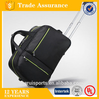 Factory made cheap Nylon Travel Duffle Bag with wheels ,travel luggage bag