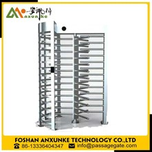Security full height turnstile access control product / pedestrian bi-directional turnstile /biometric access control