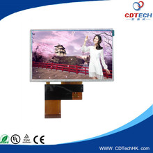 480x272 capacitive touch screen with RGB interface ILI6480 IC lcd display