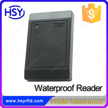Waterproof rs232 rs485 rfid card reader for controller
