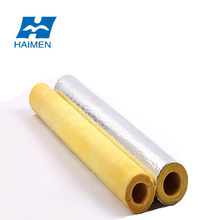 heat insulation flexible thermal waterproof glass wool pipe cover