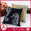 foil print cushion 45*45, painting pillow cover, 100% polyester cushion