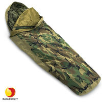 Cold weather army camo military sleeping bag