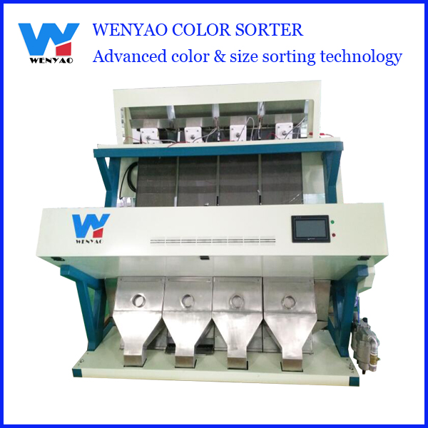 High Efficiency CCD grass seed Color Sorting Equipment/Red Skin Peanut Kernels Color Grading Machinery