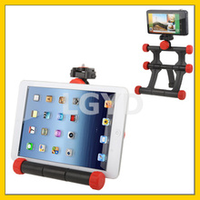 Universal 360-degrees Adjustable Rotated Folding Stand with Seven Adjusted Lock Knobs for Tablet PC / Camera