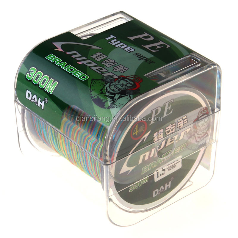 8 stands 500m PE fishing line Brand Multicolour Braided Line pesca Multifilament strong Fishing Line Cheap Free shipping