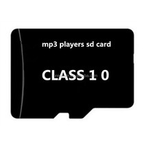 Wholesale MP3 Player Need Mini SD TF Memory Micro Card 2GB 4GB 8GB 16GB Upgrade