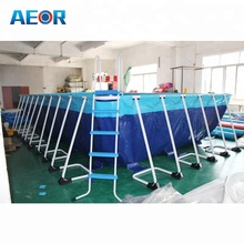 2017 New design Rectangular above ground swimming pool,indoor Portable pools used for sale,intex swimming pools