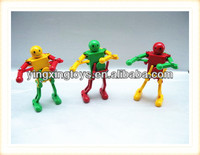 Funny small wind up plastic robot toys