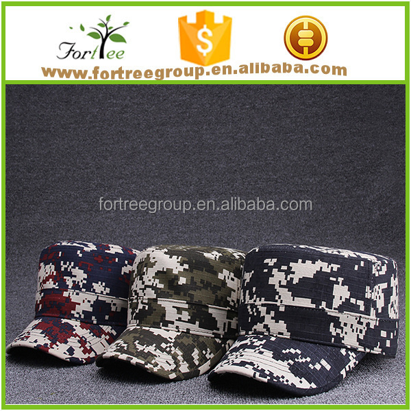 2017 best selling flat top military caps