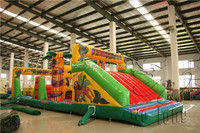 commercial bounce houses inflatable obstacle course game