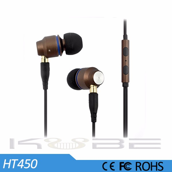 Best crazy fancy mental in-ear earphone for Android MP3 player