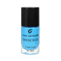 8ml mini private label your logo 66 colors available glittler water based nail polish