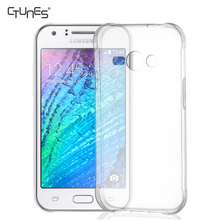 For Galaxy J1 Ace Case, TPU Slim flexible Case Crystal Clear Cover Bumber For Samsung Galaxy J1 Ace