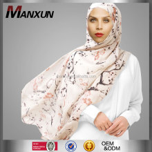 Plain Style And Printed Pattern Hot Hijab Cheaper Wholesale Price Muslim Women Hijab Printing Scarf /Shawl