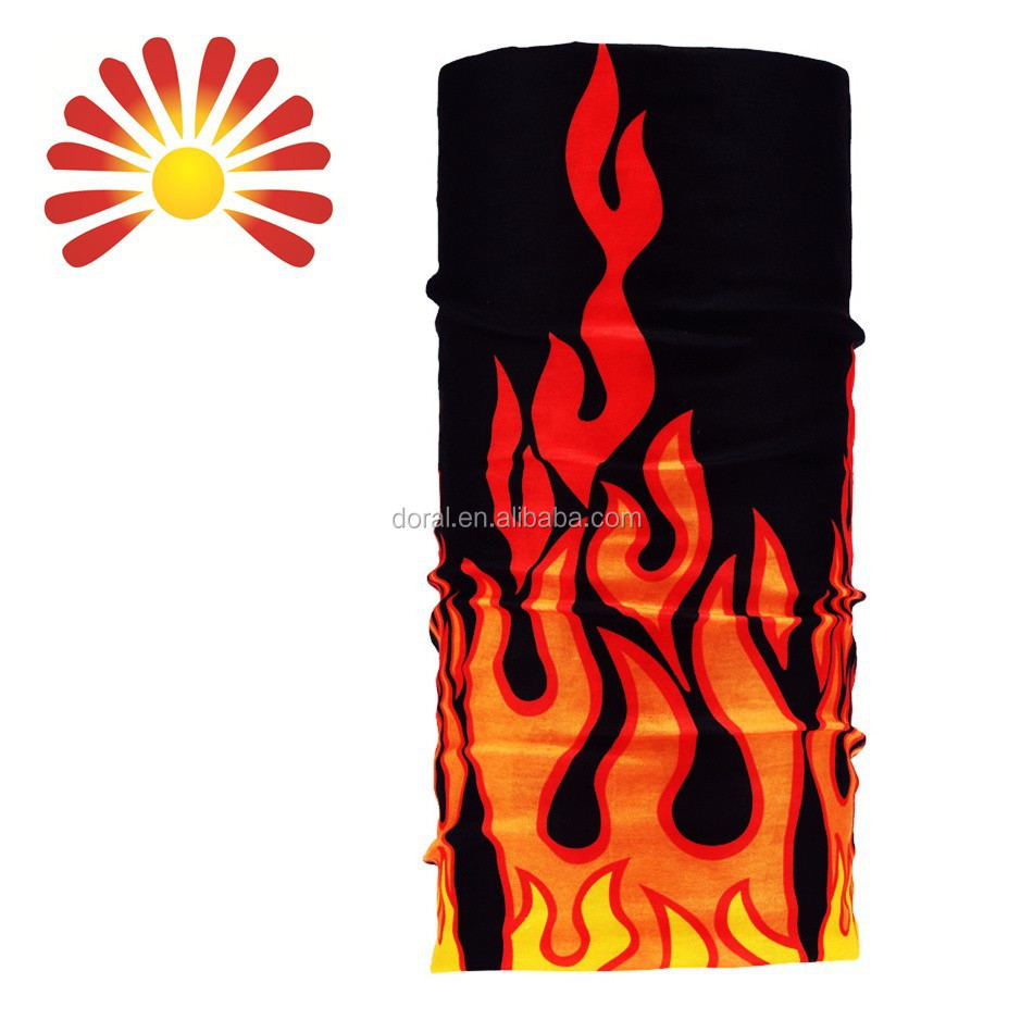 2015 Sublimation Print Multifuntional Neck Warmer Scarf, Elastic Seamless Bandana, Cheap Polyester Knitted Beanie Hat