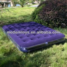 flocked air bed inflatable mattress queen size