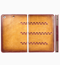 Italy fashion genuine leather tablet case frame case for iPad Mini for Factory wholesale