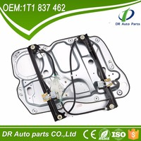 window lifter on car auto part for VW Touran Front right 1T1837462 with panel and electric generators without motor