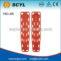 YSC-J05 Emergency Rescue Plastic Spine Board Stretcher