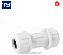 OEM 2018 upvc fittings plastic bathroom accessories compression coupling