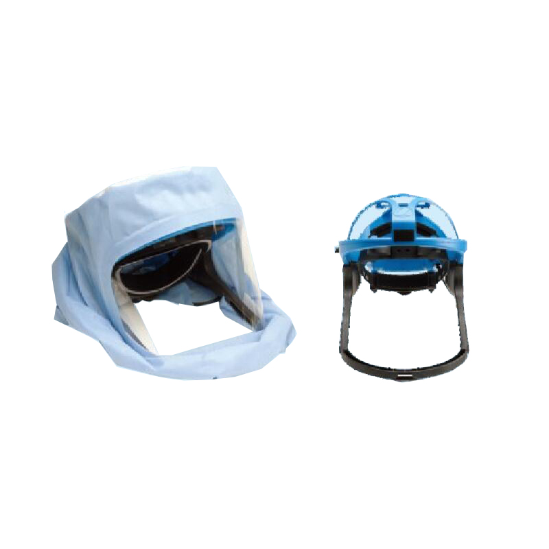 SMS +PET Z breathable medical surgical hood anti-fog