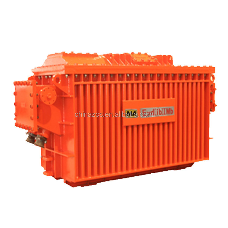 High voltage 10KV capacity 500KVA mine dry type transformer / mobile substation