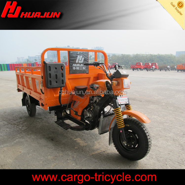 2017 Open Body Type and Cargo Use motorized cargo trike