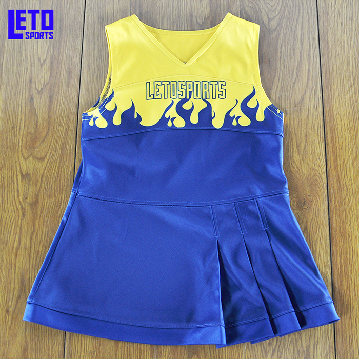Sexy Girl Custom Cheerleading Uniform