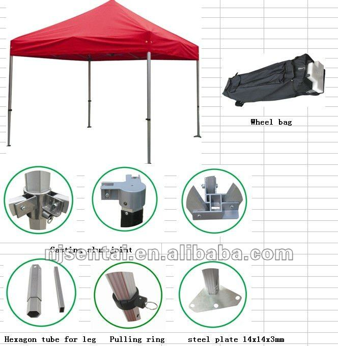 10'X10' EZ POP UP Wedding Party Tent 3x3 folding tent canopy