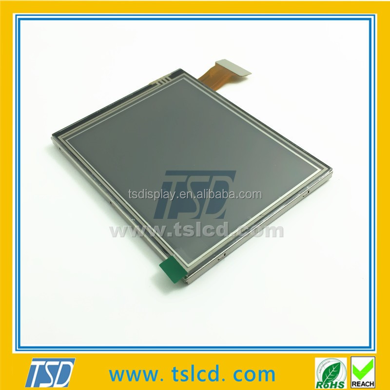 Transflective 3.5 TFT LCD display screen 320x240 LCD module readable under the sun