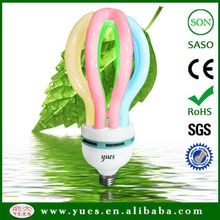 high power China Homelife Fair hot sale color lotus cfl lamp with low price