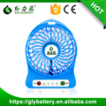 Best gift emergency Portable electrical strong wind usb fan with led rechargeble mini fan