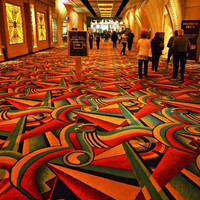 80% wool 20% nylon carpets for casino carpeting