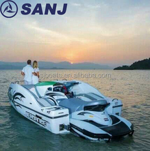 4 cylinders capacity seadance jetski 525 wave boat mate SANJ small passenger cruise Motorboat