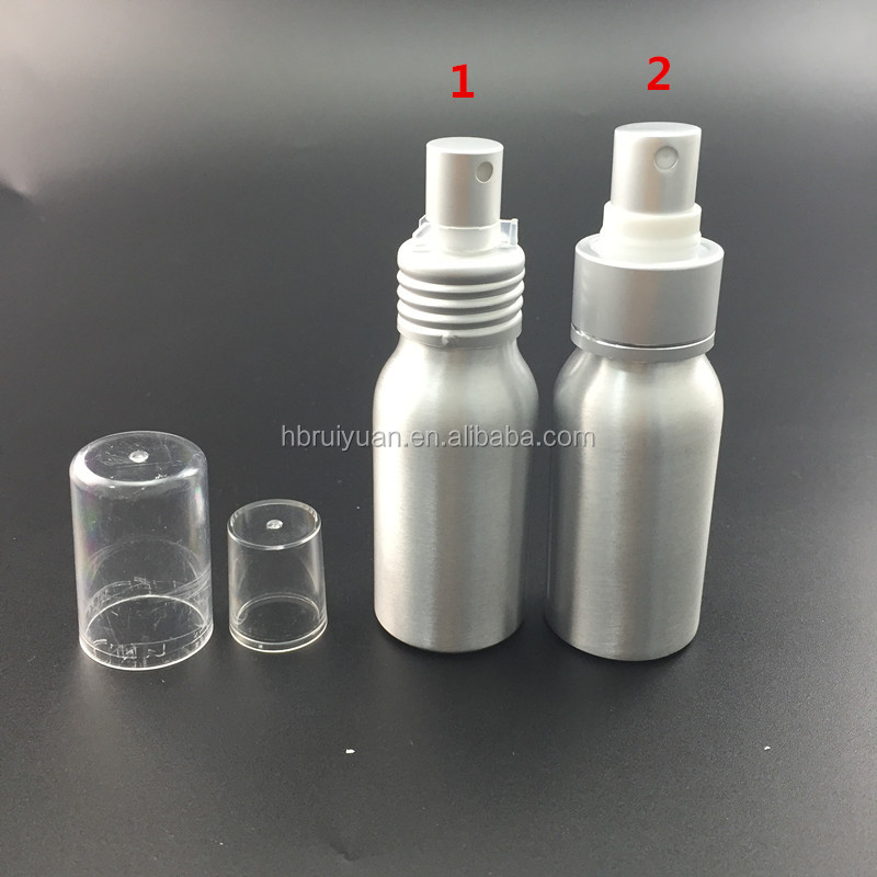 china supplier aluminum spray bottle for cosmetic