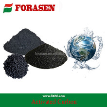 activated carbon with wood base, coal base and coconut shell base