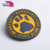 Factory supplier apparel rubber badge silicone label/patches