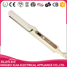 Fashion LED Ceramic Fast curling and straightening tool /curl with hair straightener